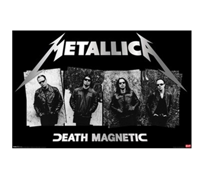 Awesome Metallica Art - Death Magnetic Poster
