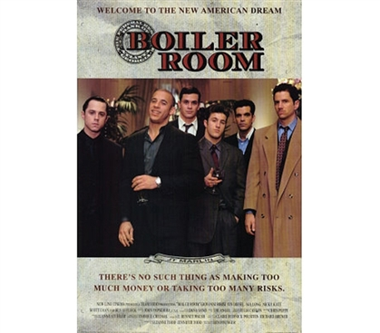 Boiler Room Movie Poster - New American Dream Art