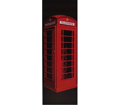 Red Telephone Booth (Britain's Calling) -  Cool Dorm Poster