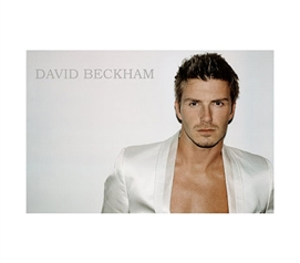 David Beckham & White Jacket - Horizonatal College Wall Posters