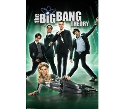 Enhance College Decor - The Big Bang Theory Pose Poster - Poster For TV