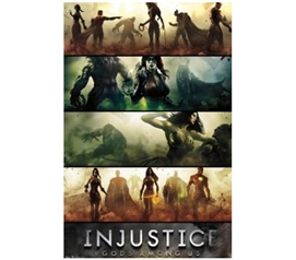 Posters Are Cheap - Injustice Poster - Add Fun Dorm Decorations