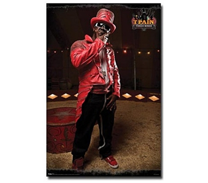 T-Pain (Red) Music Dorm Room  Poster College Wall Poster