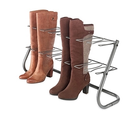 Dorm Boot Stand - Steel Gray Dorm Room Storage College Supplies