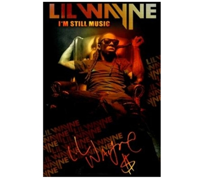 Rap Posters For College - Lil Wayne Music Poster - Make Your Dorm Room A Party