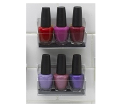 StickOnPods - Nail Polish Storage Holder for Dorms College Essential Organization