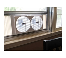 Portable Twin Window Fan for College Dorms