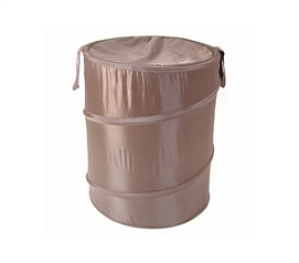 Dark Brown Bongo - Durable Dorm Laundry Hamper - A Cheap, Useful College Necessity