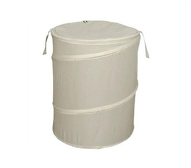 Natural Bongo - Durable Dorm Laundry Hamper - Dorm Room Shopping Essentials