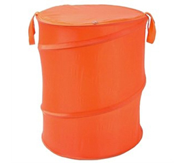 Orange Bongo - Durable Dorm Laundry Hamper - Great For Dorm Storage Too
