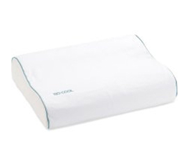 Ultra Comfortable Iso-Cool Contour Bed Pillow - Twin XL Bedding Essential
