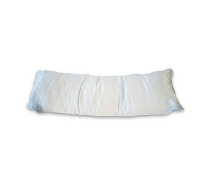Dorm Bedding Satin Style Body Pillow Gentle Sky Blue