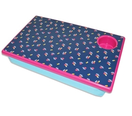 Ditzy Floral Lapdesk College Supplies Must Have Dorm Items