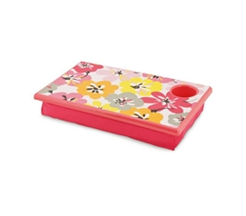 Cotton Blossom Lapdesk - Perfect For College Laptops