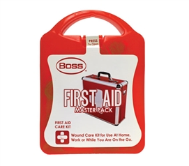 First Aid Care Kit - Master Pack Dorm Necessities College Supplies