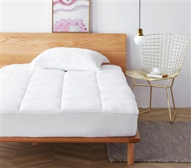Anti-Bacterial Clean Health Twin XL Mattress Pad - Provides Proper Bedding Protection