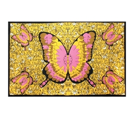 Decorate Those Bland Walls - Butterfly Tapestry - Super Pretty And Pink