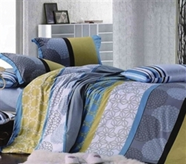 Opaque Cluster Twin XL Comforter Set Dorm Bedding Essentials