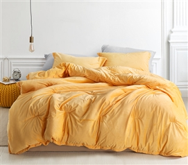Coma Inducer Twin XL Comforter - Baby Bird - Mimosa
