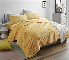 Coma Inducer Twin XL Sheets - Baby Bird - Mimosa