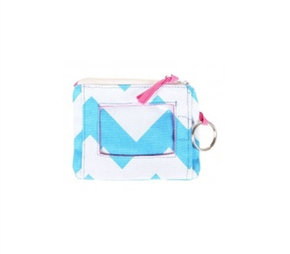 Chevron Blue Student ID Case College Supplies Must Have Dorm Items
