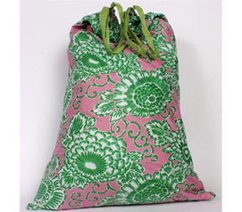 Spring Fields - College Laundry Bag - Looks Great For Laundry Day
