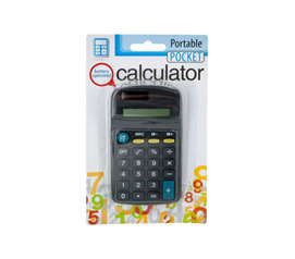 Basic Pocket Calculator