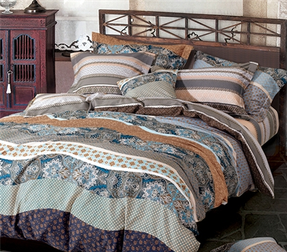 Juxta Waves Twin XL Comforter Dorm Room Decor Twin XL Bedding