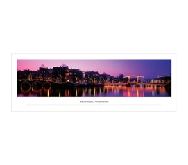 Amsterdam, Netherlands - Twilight Panorama
