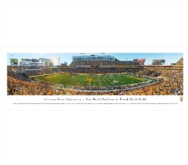 Arizona State University - Sun Devil Stadium Panorama Dorm Room Wall Decor