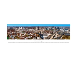Atlanta, Georgia - Daytime Panorama College Wall Decor