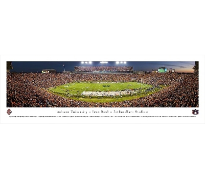 Auburn University - Iron Bowl - Jordan-Hare Stadium Panorama Dorm Wall Art Dorm Room Decor