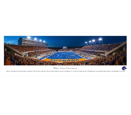 Boise State University - Albertsons Stadium Panorama Dorm Room Wall Decorations
