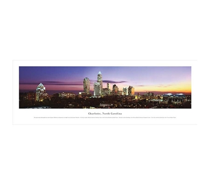Charlotte, North Carolina - Twilight Panorama Dorm Room Decorations Dorm Room Decorating Ideas