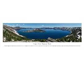 Crater Lake National Park Panorama College Supplies