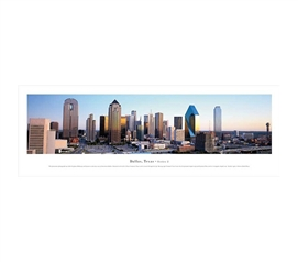 Dallas, Texas - Afternoon Panorama Dorm Room Decorations