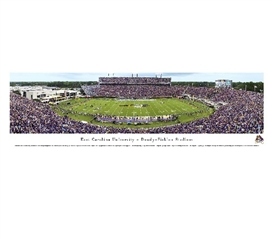 East Carolina University - Dowdy-Ficklen Stadium Panorama Dorm Essentials College Wall Decor