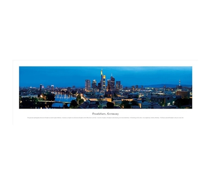 Frankfurt, Germany - Panorama