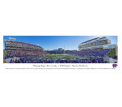 Kansas State University - Bill Snyder Family Stadium Panorama Dorm Room Decorations