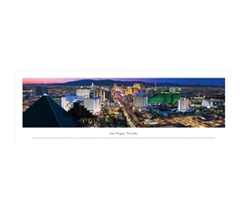 Las Vegas, Nevada - Skyline Panorama