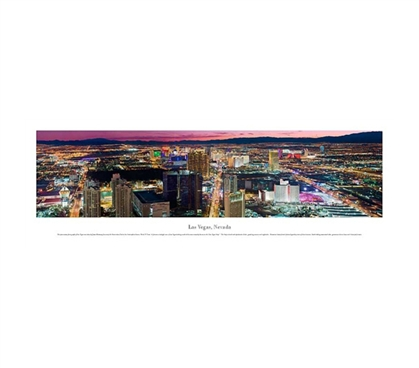 Las Vegas, Nevada - Lights Panorama