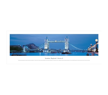 London, England - Bridge Panorama