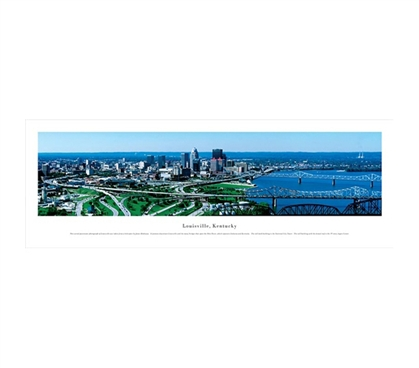Louisville, Kentucky - Skyline Panorama