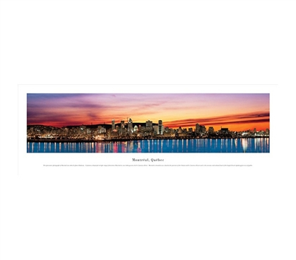 First Class Views Of A Magnificent Montreal, Quebec - Panorama Wall Art