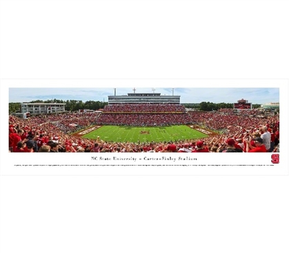 NC State University - Carter-Finley Stadium Panorama Dorm Wall Art Dorm Essentials