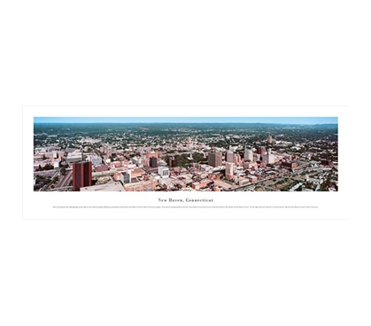 New Haven, Connecticut - Panorama