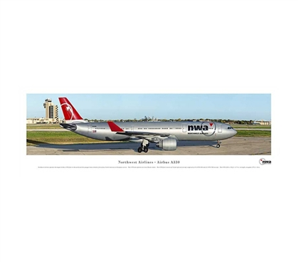 Northwest Airlines A330 - Panorama