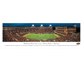 Dorm Wall Art Oklahoma State University - Boone Pickens Stadium Panorama Dorm Essentials