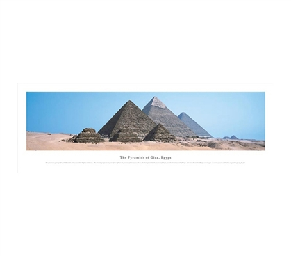 The Great Pyramids - Panorama