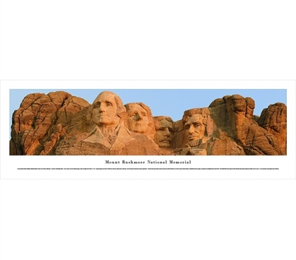 A Great View - Mount Rushmore National Memorial Panorama - Wall Decor For College